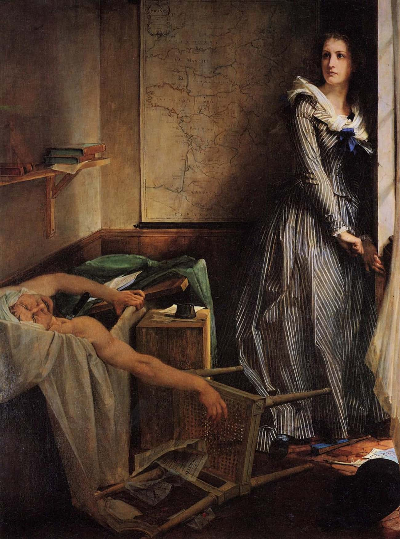 Charlotte Corday's Assassination Of Marat Changed the Perception Of Women