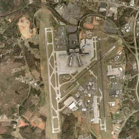 Charlotte Douglas Internationa is listed (or ranked) 3 on the list All North Carolina Airports