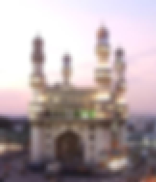 Charminar is listed (or ranked) 3 on the list Hyderabad Architecture: Famous Landmarks and Buildings
