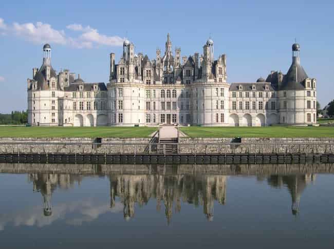 Château De Chambord Is Listed Or Ranked 3 On The List Most Beautiful