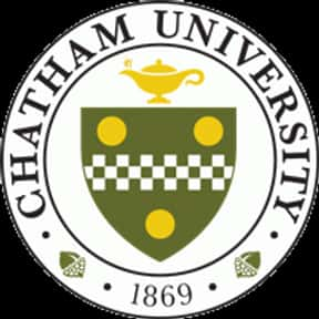 Chatham University is listed (or ranked) 20 on the list The Best Womens Colleges in the US