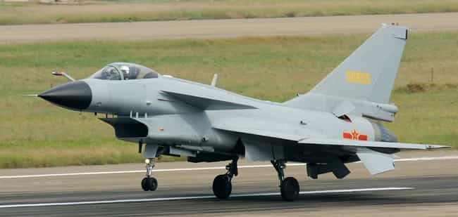Chengdu J-10 is listed (or ranked) 4 on the list Planes Used By Pakistan Air Force