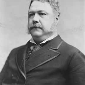Chester A. Arthur is listed (or ranked) 18 on the list Men On Stamps: List Of Men On US Postage