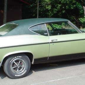 Chevrolet Chevelle is listed (or ranked) 9 on the list The Best 1960s Cars