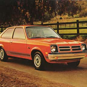 Chevrolet Chevette is listed (or ranked) 19 on the list The Worst Cars Ever Made