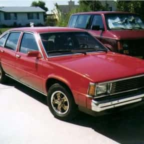 Chevrolet Citation is listed (or ranked) 13 on the list The Worst Cars Ever Made
