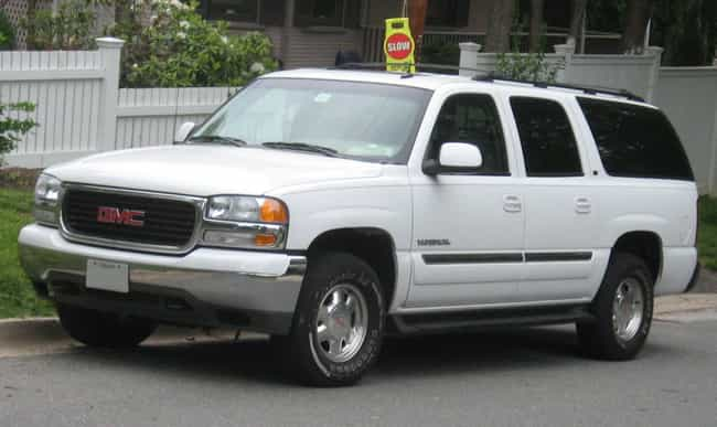 Chevrolet Suburban is listed (or ranked) 2 on the list Full List of GMC Models