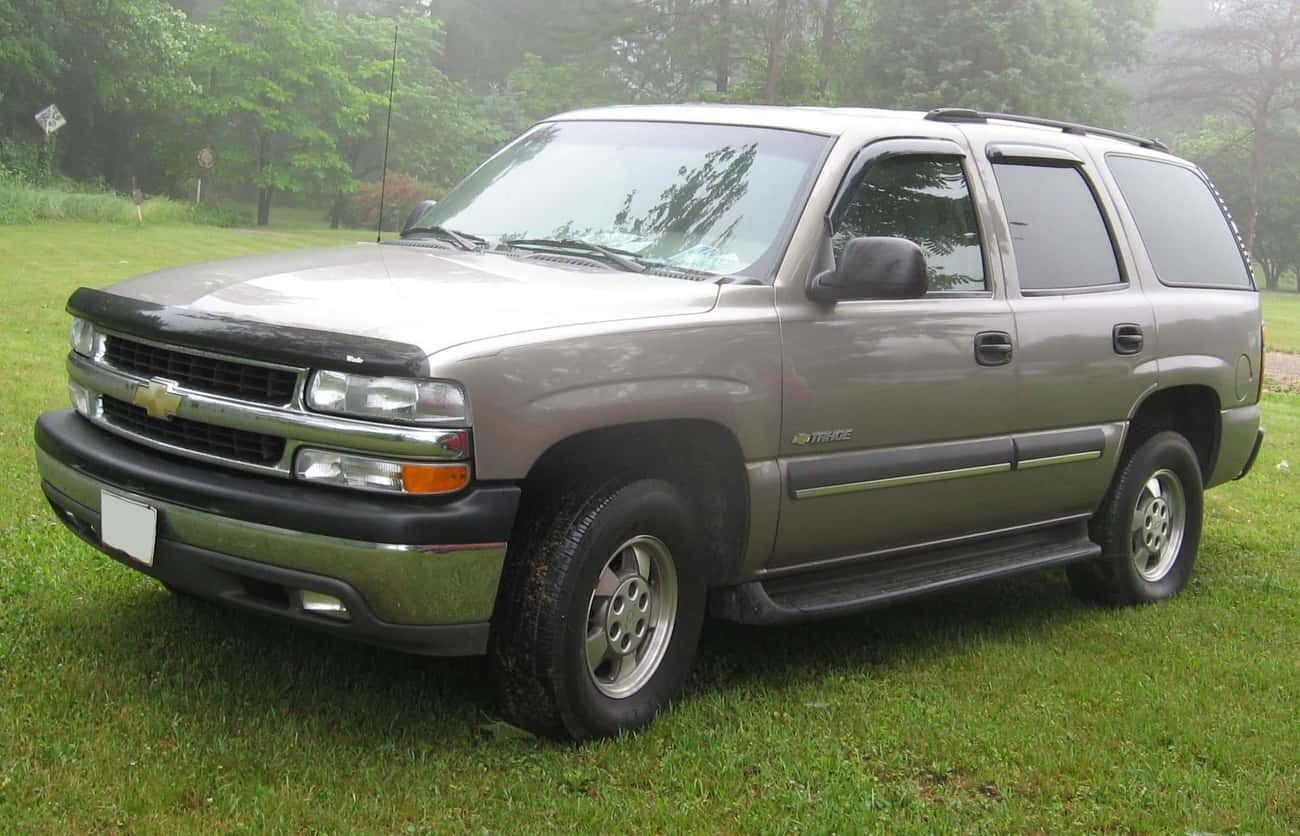 Chevrolet Tahoe is listed (or ranked) 4 on the list Full List of Chevrolet Models