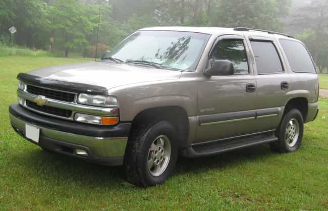 Chevrolet Tahoe Is Listed Or Ranked 4 On The List Full Of