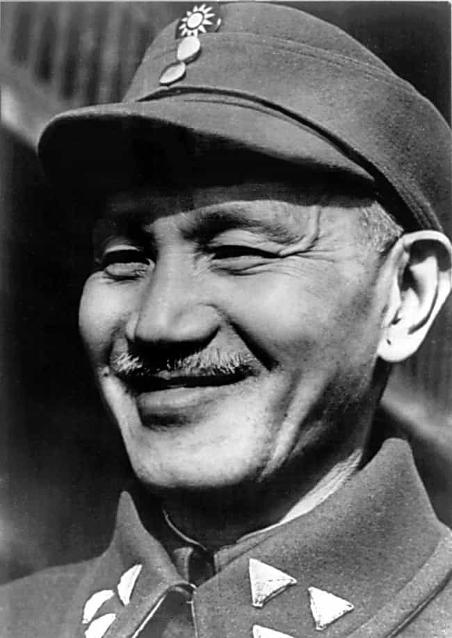 Chiang Kai-shek is listed (or ranked) 1 on the list Members of the Family Of Chiang Kai-shek