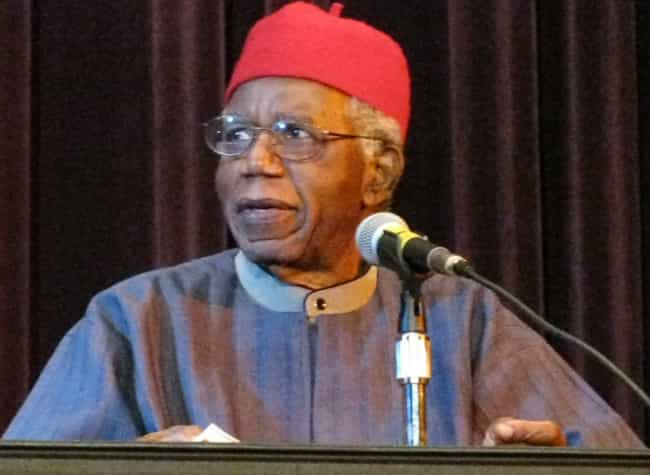 Chinua Achebe is listed (or ranked) 2 on the list Famous Poets from Nigeria