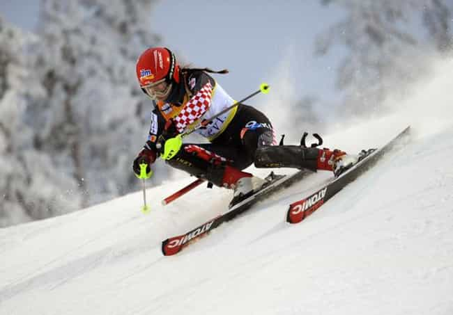 Ana Jelušić is listed (or ranked) 1 on the list Famous Alpine skiers from Croatia