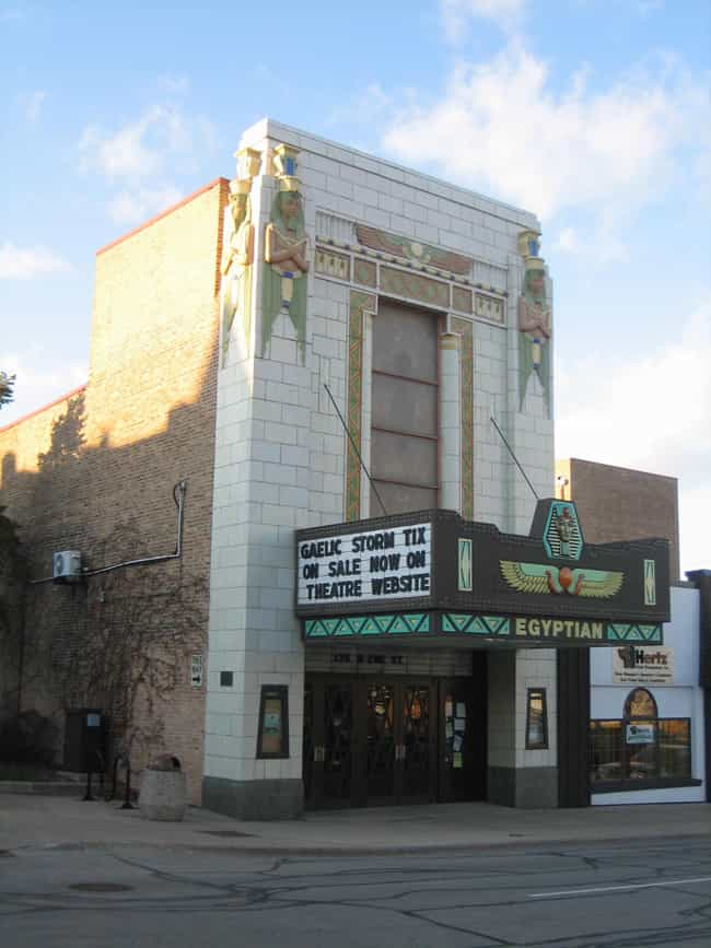 Egyptian Theatre is listed (or ranked) 1 on the list Famous Egyptian Revival architecture buildings