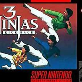 3 Ninjas Kick Back is listed (or ranked) 1 on the list All Super Nintendo Games: List of SNES Console Games