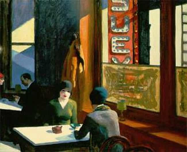 Chop Suey is listed (or ranked) 4 on the list Famous Edward Hopper Paintings