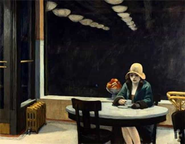 Automat is listed (or ranked) 2 on the list Famous Edward Hopper Paintings