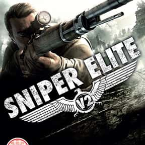 Sniper Elite V2 is listed (or ranked) 14 on the list The Best Video Games Set In WW2