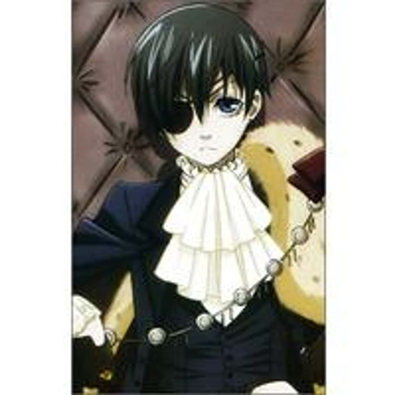 Ciel Phantomhive is listed (or ranked) 1 on the list Ranking the 30+ Best Wealthy Anime Characters