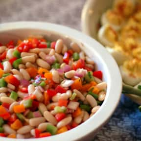 Bean salad is listed (or ranked) 23 on the list The Best Outdoor Summer Side Dishes