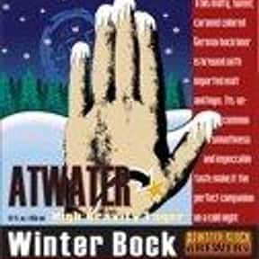 Atwater Winter Bock (High Grav is listed (or ranked) 7 on the list Beers with 7.5 Percent Alcohol Content