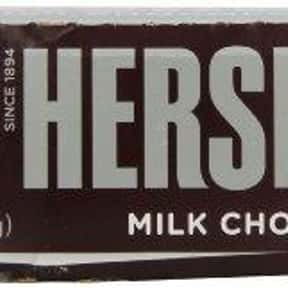 Hershey's Milk Chocolate Bar is listed (or ranked) 3 on the list The Best Hershey Bar Flavors
