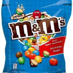 Crispy M&Ms is listed (or ranked) 6 on the list The Best Flavors of M&Ms