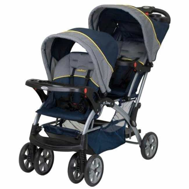 Baby Trend Sit N Stand D... is listed (or ranked) 3 on the list The Best Strollers for Twins