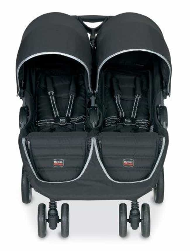 Britax B-Agile Double Stroller is listed (or ranked) 2 on the list The Best Strollers for Twins