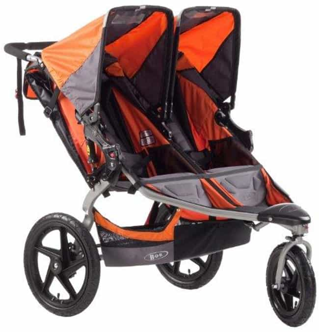 BOB Revolution SE Duallie Stro... is listed (or ranked) 4 on the list The Best Strollers for Twins