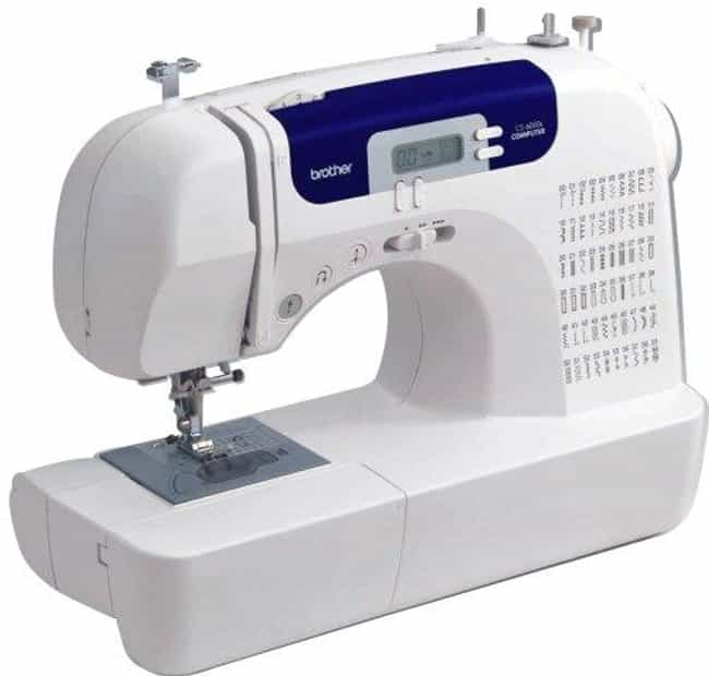 Brother Cs6000i Feature-... is listed (or ranked) 2 on the list The Best Embroidery Sewing Machines