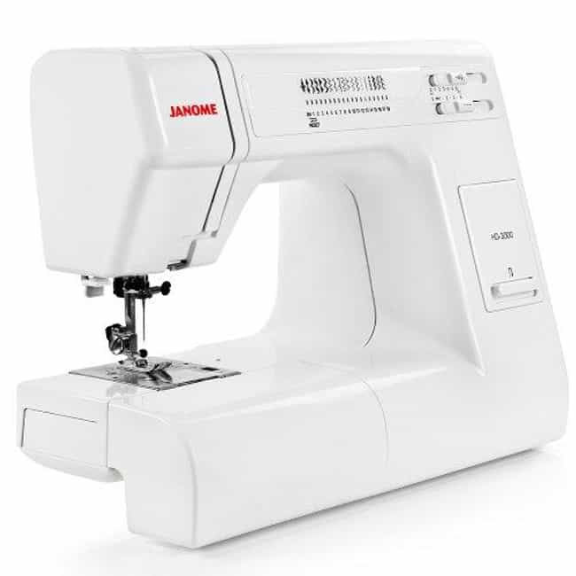 Janome HD3000 Heavy-duty... is listed (or ranked) 3 on the list The Best Heavy Duty Sewing Machines