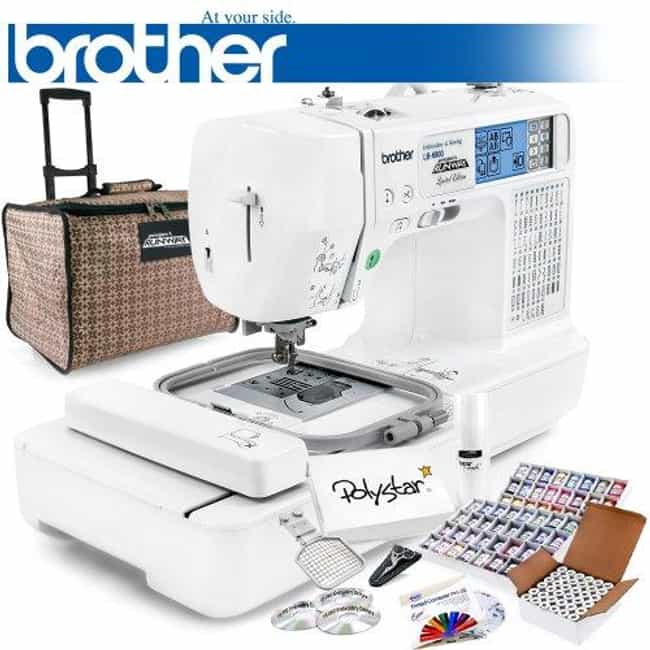 Brother Lb-6800prw Proje... is listed (or ranked) 1 on the list The Best Embroidery Sewing Machines