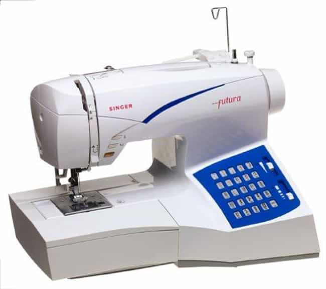 Singer Ce-100 Futura Sew... is listed (or ranked) 3 on the list The Best Embroidery Sewing Machines