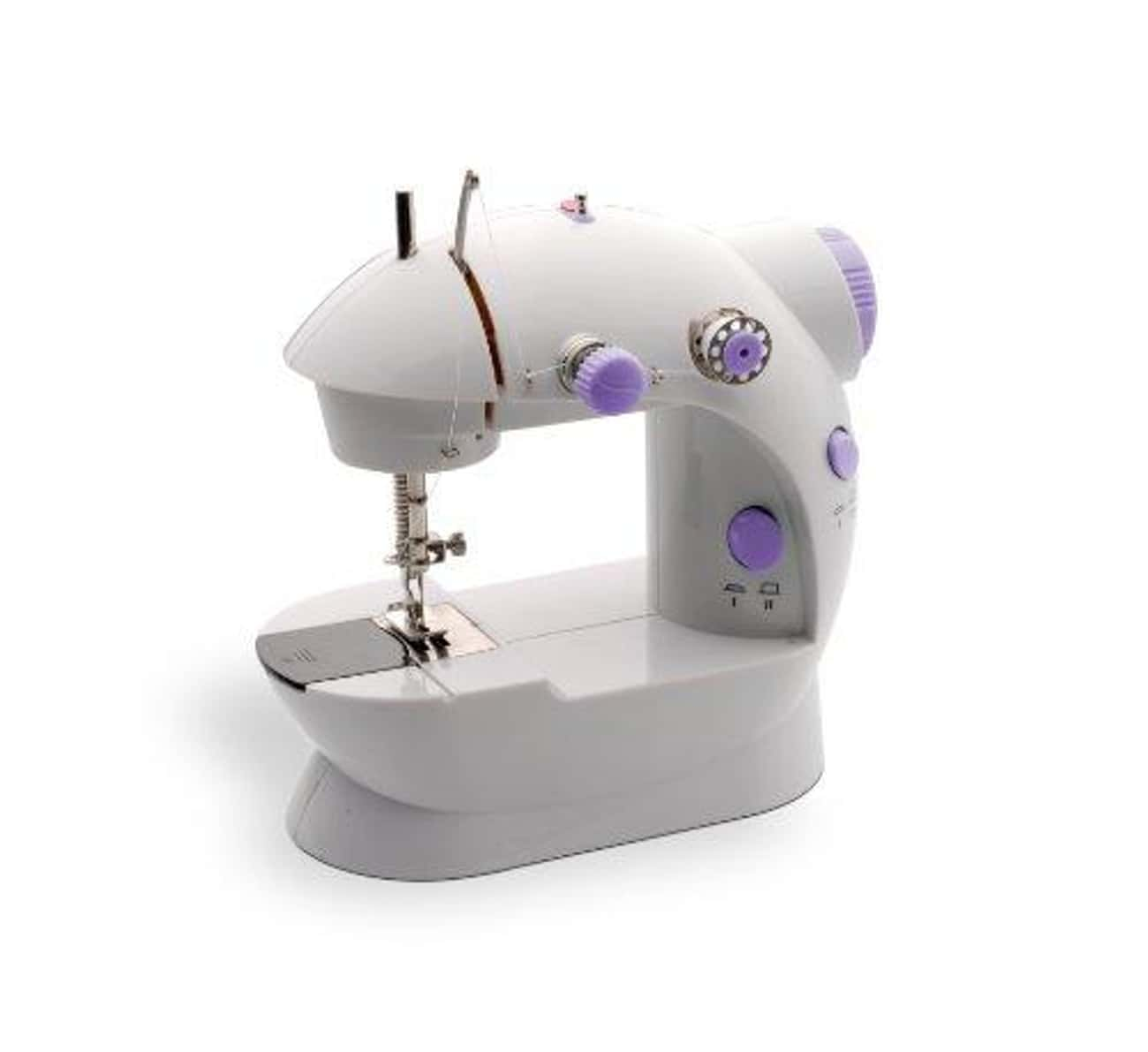 Michley Lss-202 Lil' Sew & Sew is listed (or ranked) 3 on the list The Best Hand Held Sewing Machine