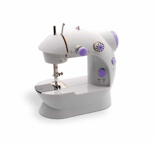 Michley Lss-202 Lil' Sew... is listed (or ranked) 3 on the list The Best Hand Held Sewing Machine