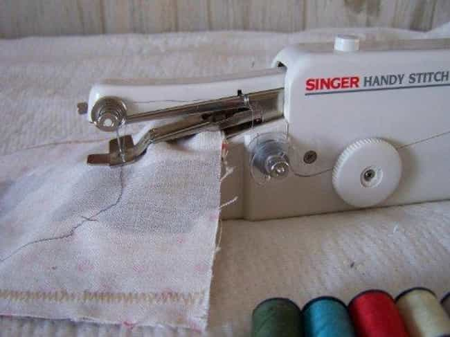 Singer Handy Stitch Hand... is listed (or ranked) 4 on the list The Best Hand Held Sewing Machine