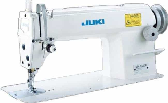 Juki Ddl-5550 Industrial Strai... is listed (or ranked) 2 on the list The Best Commercial Sewing Machines