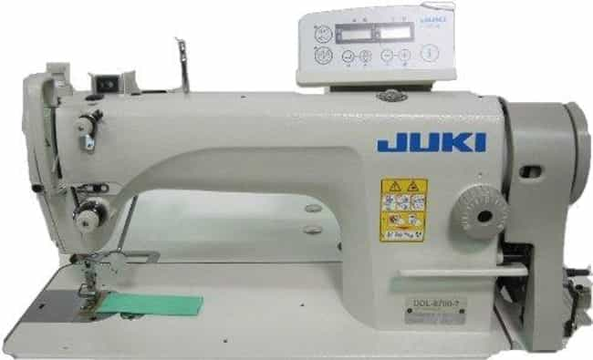 Juki Ddl-8700-7 Industrial Str... is listed (or ranked) 3 on the list The Best Commercial Sewing Machines