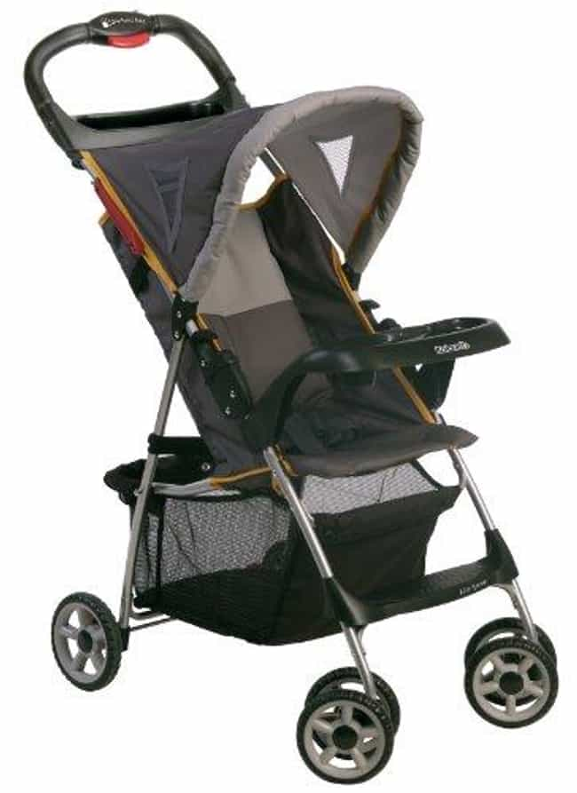 Kolcraft Lite Sport Ligh... is listed (or ranked) 1 on the list The Best Lightweight Strollers