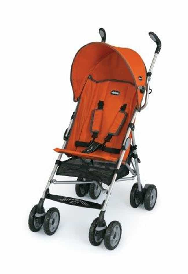 Chicco Capri Lightweight... is listed (or ranked) 1 on the list The Best Umbrella Strollers