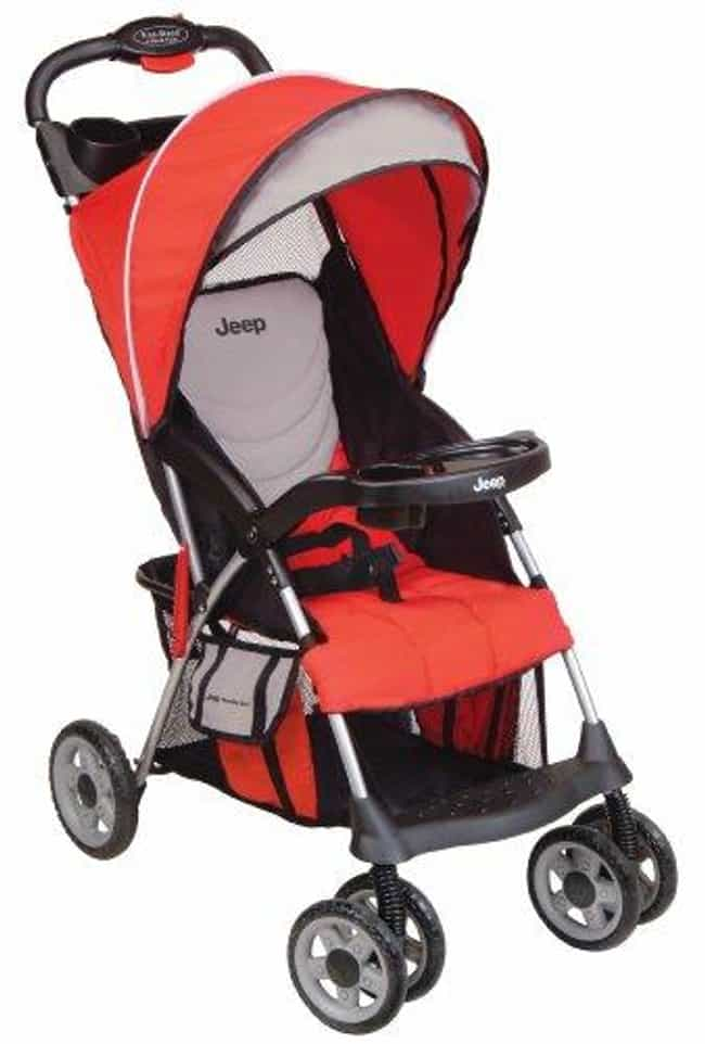 Jeep Cherokee Sport Stro... is listed (or ranked) 4 on the list The Best Umbrella Strollers