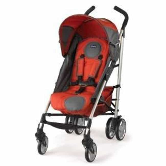 Chicco Liteway Stroller ... is listed (or ranked) 3 on the list The Best Lightweight Strollers
