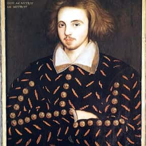 Christopher Marlowe is listed (or ranked) 15 on the list The Greatest Playwrights in History