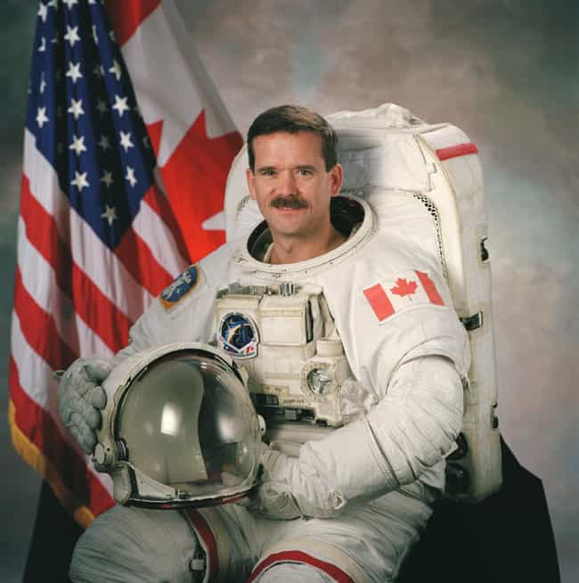 Chris Hadfield is listed (or ranked) 2 on the list Famous Astronauts from Canada
