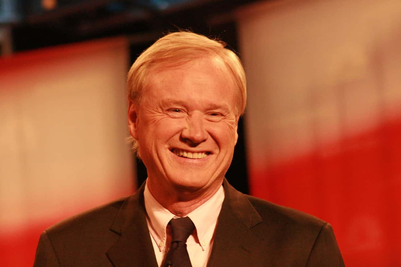 Chris Matthews is listed (or ranked) 1 on the list Famous People Born in 1945