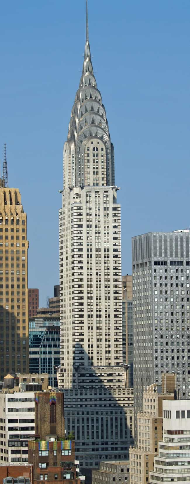 Chrysler Building is listed (or ranked) 4 on the list The Top 25 Tallest Buildings in New York