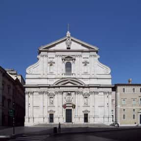 Church of the Gesù is listed (or ranked) 25 on the list Famous Baroque Architecture Buildings