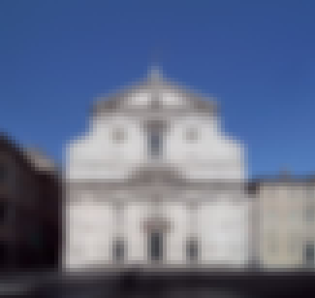 Church of the Gesù is listed (or ranked) 2 on the list List of Giacomo della Porta Architecture