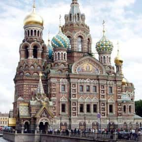 Church of the Savior on Blood is listed (or ranked) 7 on the list The Top Must-See Destinations in Russia