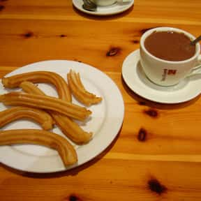 Churro is listed (or ranked) 15 on the list The Best Fast Food Desserts